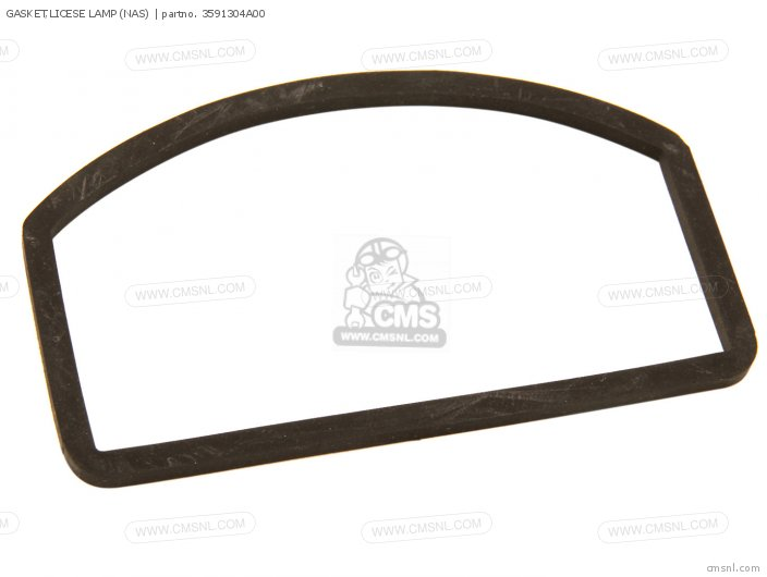 GASKET LICESE LAMP NAS