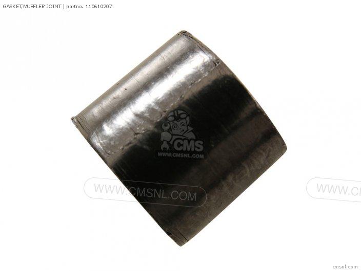 2007 Vn900b7f Vulcan 900 Classic Gasket muffler Joint