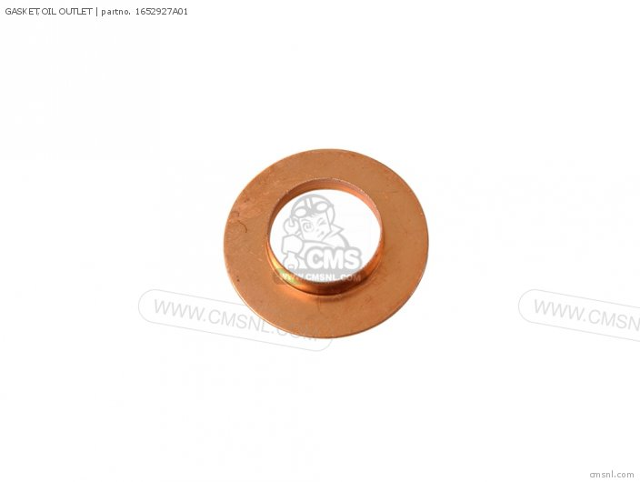 GASKET OIL OUTLET