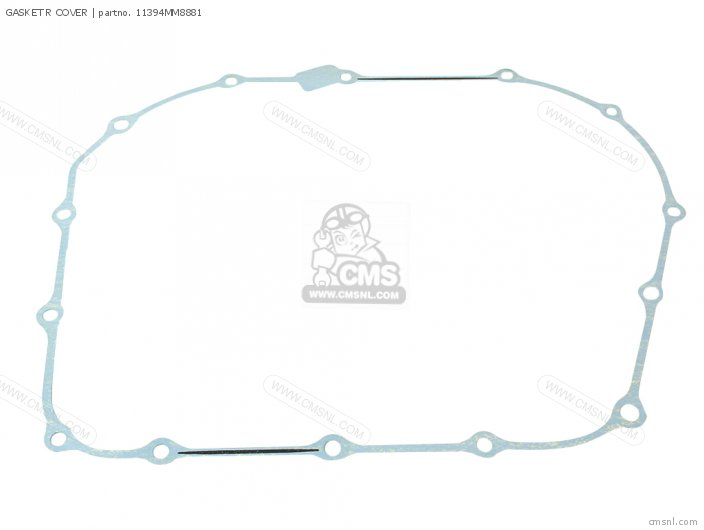 Vt1100c2 Shadow 1100 1996 Usa Gasket R Cover