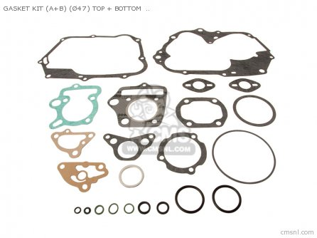 Cl70 Scrambler K3 Usa Gasket Set A + B