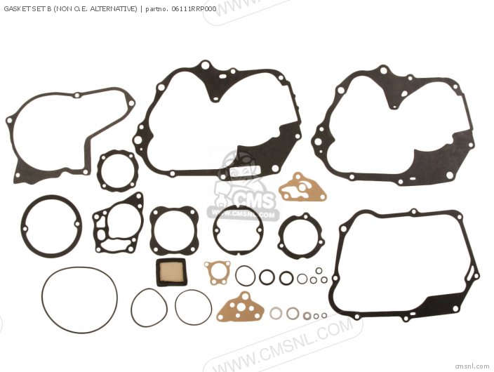 Gasket Set B (non O.e. Alternative) (nas) photo