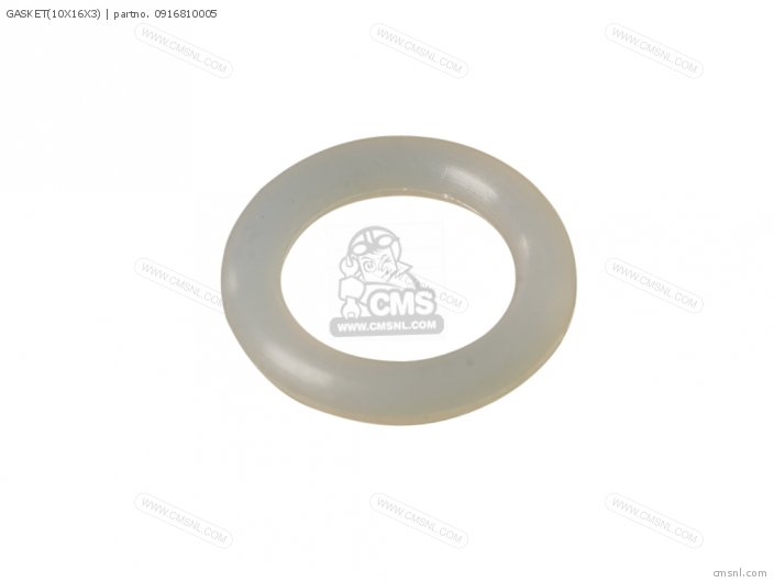 Gasket(10x16x3) (nas) photo