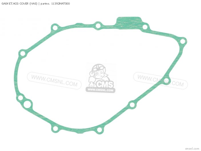 Gasket, Acg Cover (nas) photo