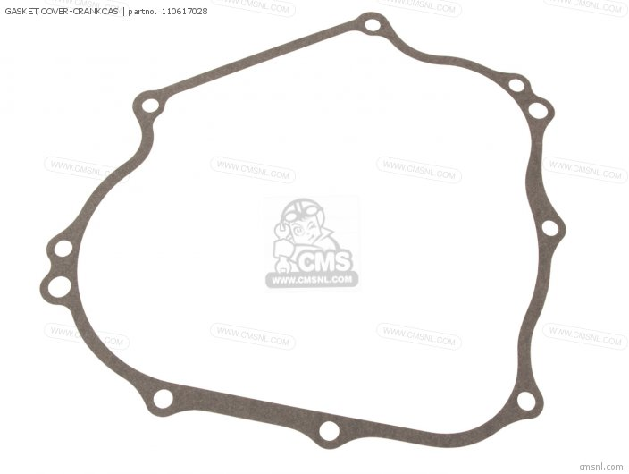 Gasket, Cover-crankcas (nas) photo