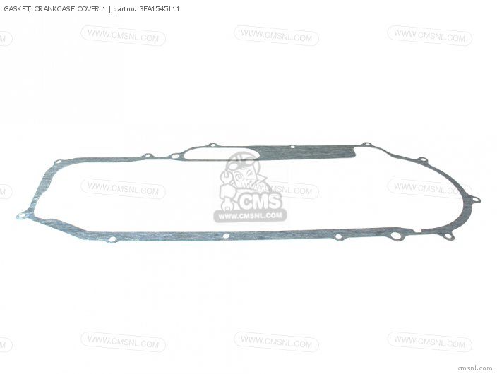 Gasket, Crankcase Cover 1 (nas) photo