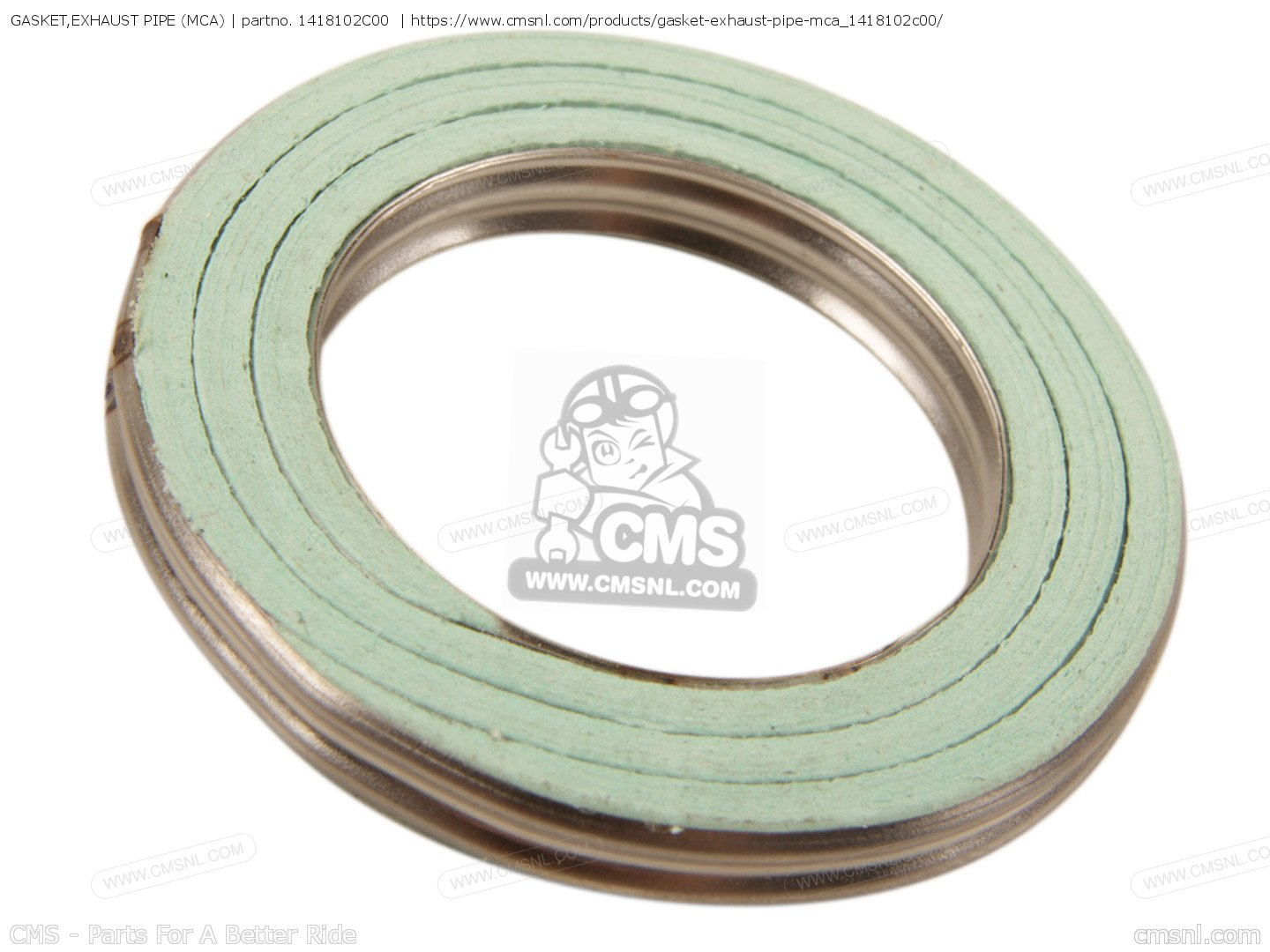Caltric Muffler Gasket Compatible With Yamaha 3Jj-14653-00-00 1L9-14714-01-00 47G-14653-00-00