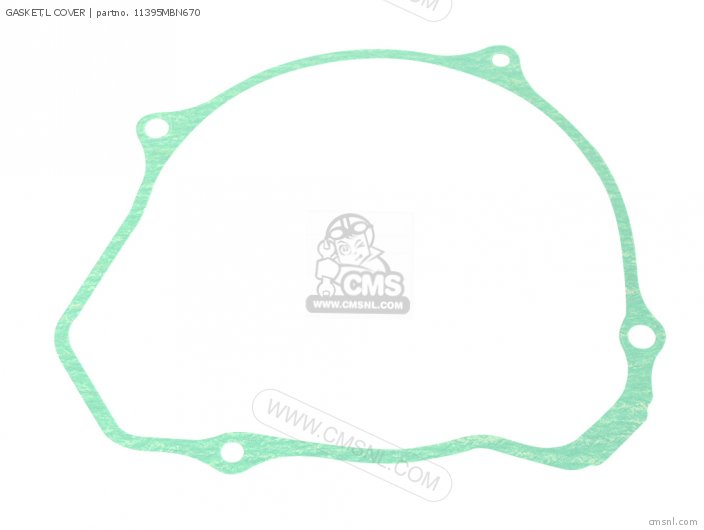 Gasket, L Cover (nas) photo