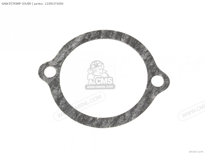Gasket, Pomp Cover (mca) photo