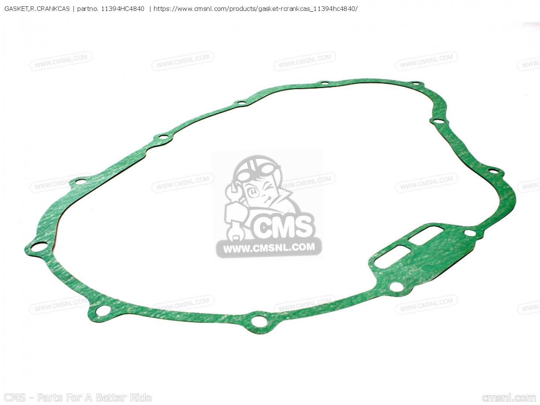 Honda 11394-HC4-840 Right Crankcase Cover gasket