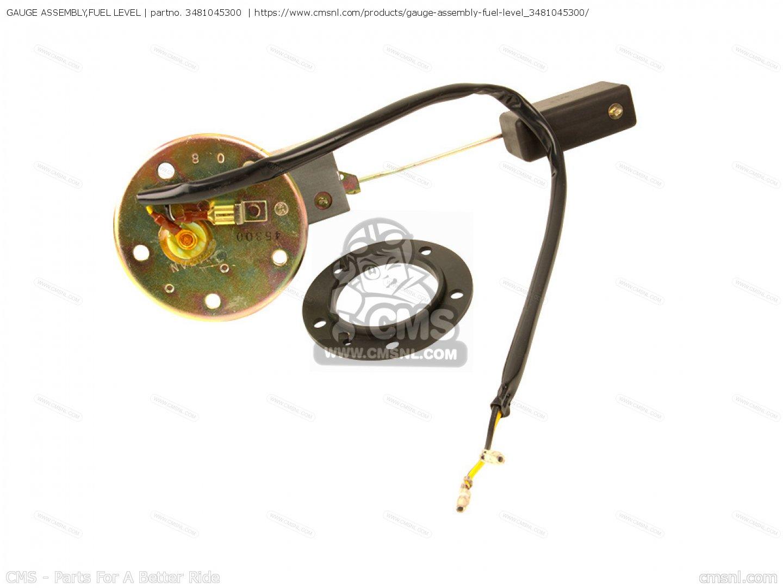 suzuki fuel gauge wiring 3481045300 gauge assembly fuel level suzuki buy the 34810 45300  gauge assembly fuel level suzuki