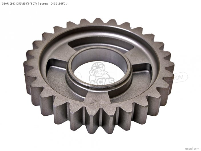 GEAR,2ND DRIVEN(NT:27)