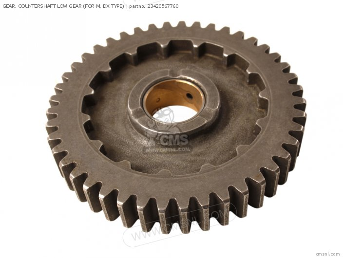 GEAR, COUNTERSHAFT LOW GEAR (FOR M, DX TYPE)