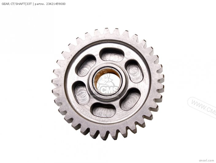 GEAR,CT/SHAFT(33T