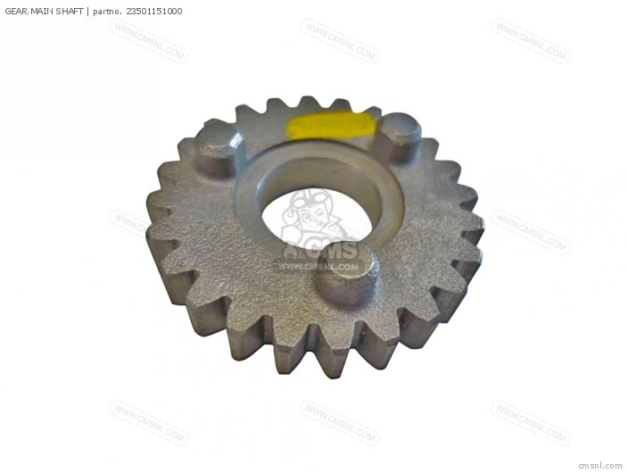 GEAR,MAIN SHAFT