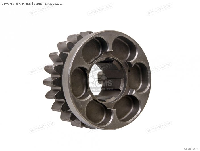 GEAR MAINSHAFT3RD