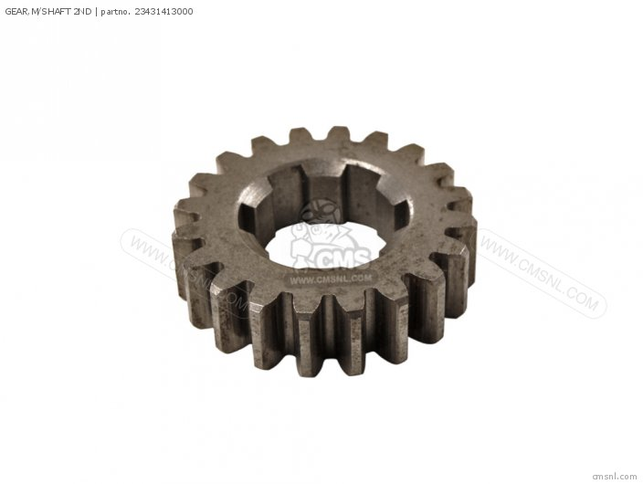 GEAR,M/SHAFT 2ND