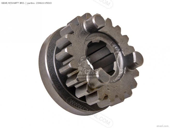 GEAR,M/SHAFT 3RD.