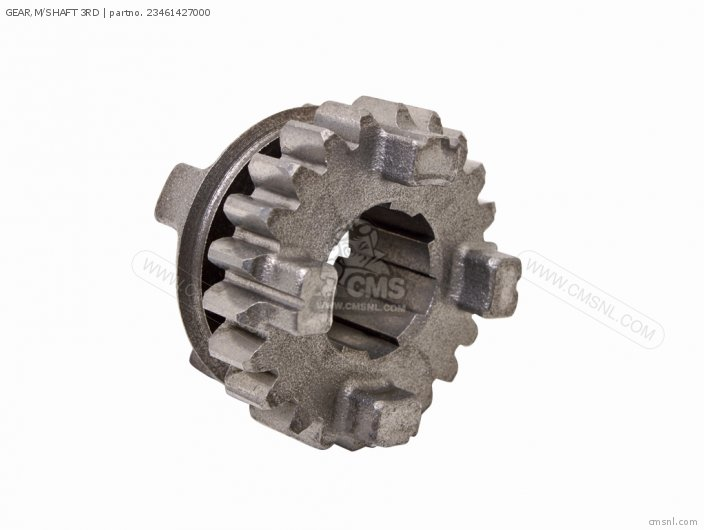 GEAR,M/SHAFT 3RD
