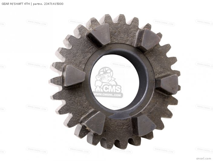 GEAR M/SHAFT 4TH