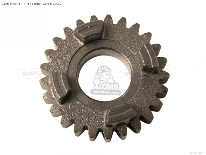 GEAR,M/SHAFT 4TH