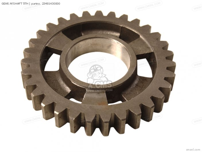 GEAR,M/SHAFT 5TH