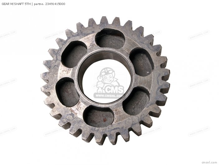 GEAR M/SHAFT 5TH