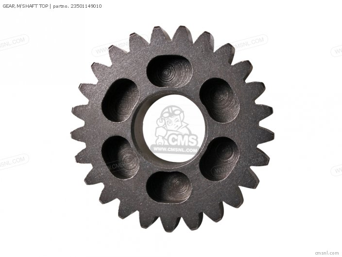 GEAR,M/SHAFT TOP