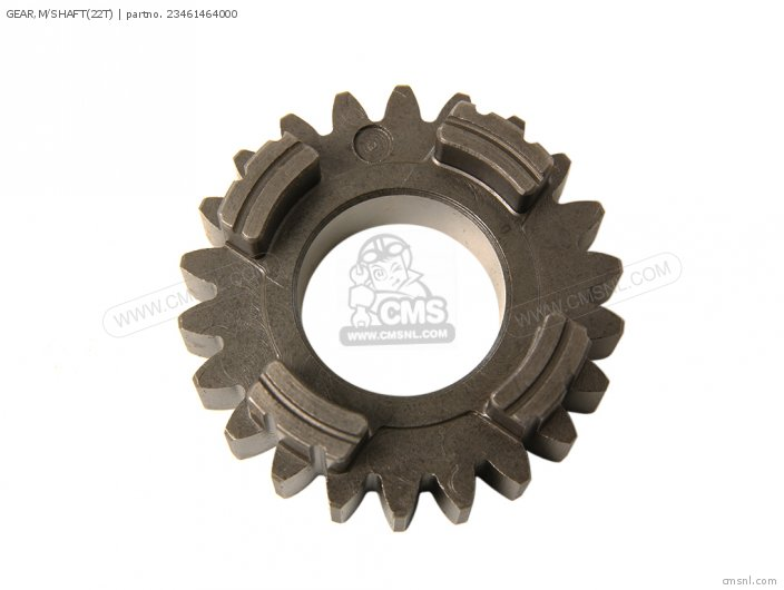 GEAR,M/SHAFT(22T)