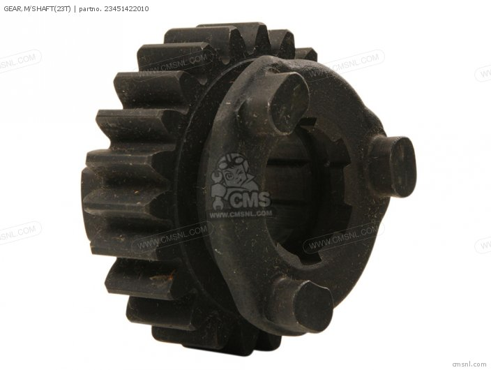 GEAR,M/SHAFT(23T)
