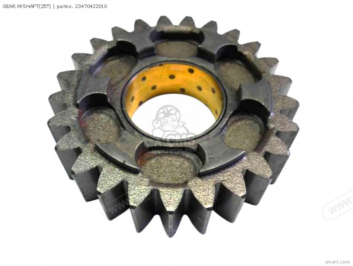 GEAR,M/SHAFT(25T)