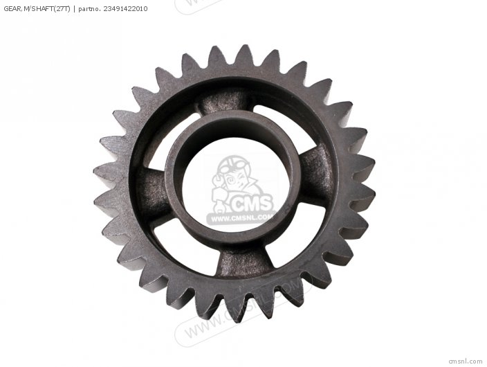 GEAR,M/SHAFT(27T)