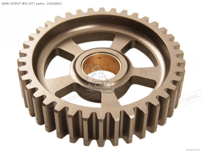 GEAR,OUTPUT 3RD,33T