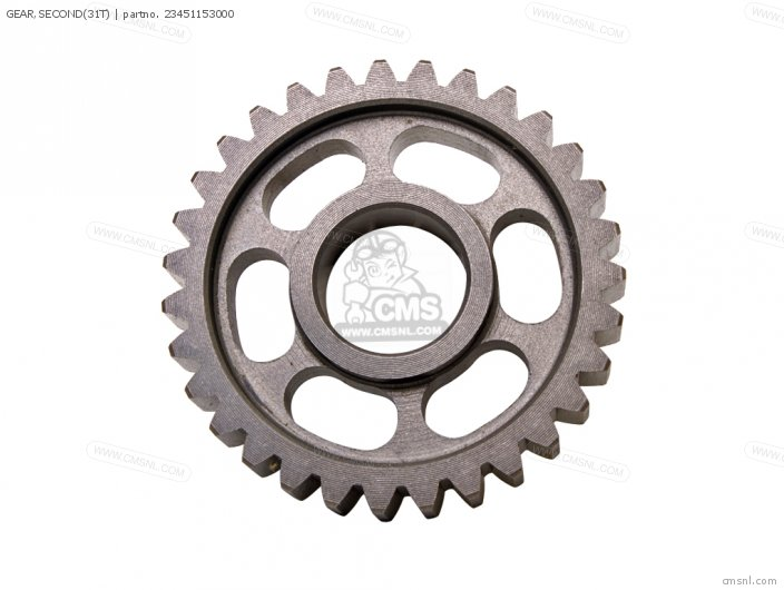 GEAR,SECOND(31T)