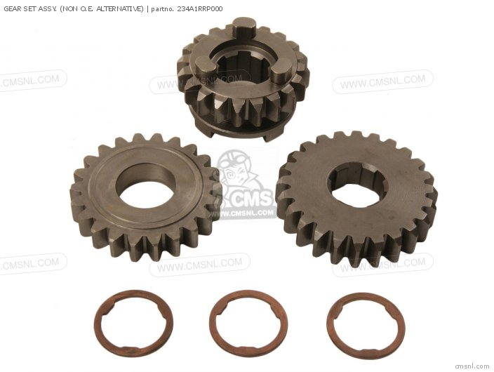 Gear Set Assy. (non O.e. Alternative) photo