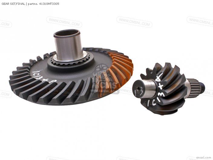 ST1100A PANEUROPEAN 1999 X EUROPEAN DIRECT SALES   ABS GEAR SET FINAL