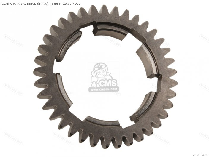 Gear, Crank Bal Driven(nt:37) photo