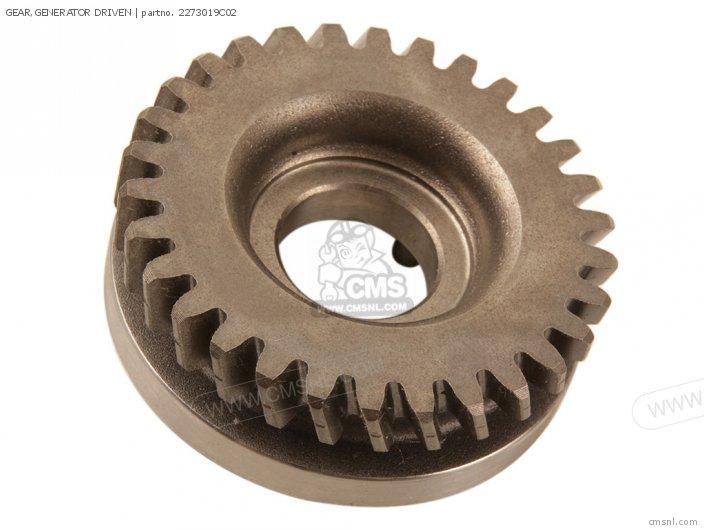 Gear, Generator Driven photo