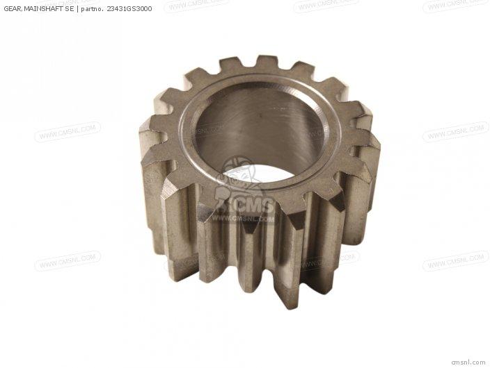 Gear, Mainshaft Se photo