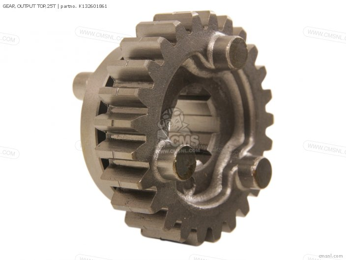 Gear, Output Top, 25t photo
