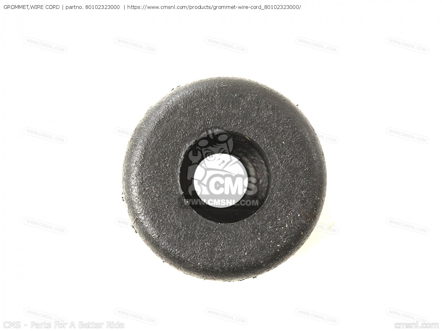 GROMMET,WIRE CORD, fits CB500K0 FOUR EUROPEAN DIRECT SALES - order ...