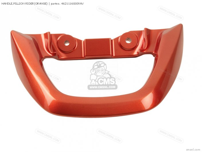 Handle, Pillion Rider(orange) photo