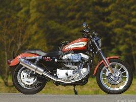 HARLEY XL1200R(04) TITAN-OVAL FULL EXHAUST