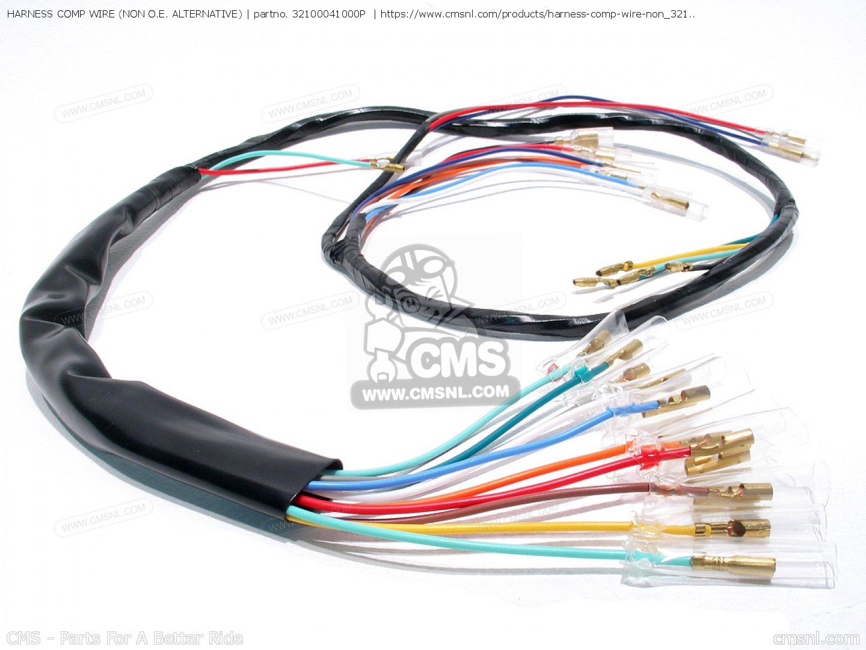 harness comp wire non oe alternative_big32100041000P 01_83c3 32100041000p harness comp wire (non o e alternative) honda  at gsmx.co