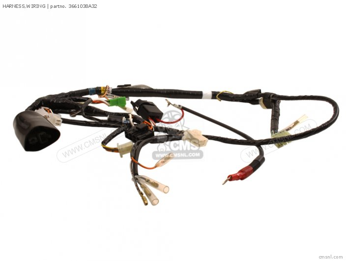 Suzuki Vs700glf Intruder 1987  H  Usa  E03  Wiring Harness