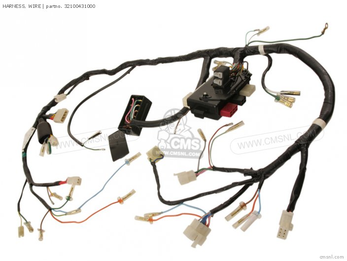 harnesswire_medium32100431000 01_b0af honda gl1000 goldwing 1978 usa wire harness schematic partsfiche gl1000 wiring schematic at creativeand.co