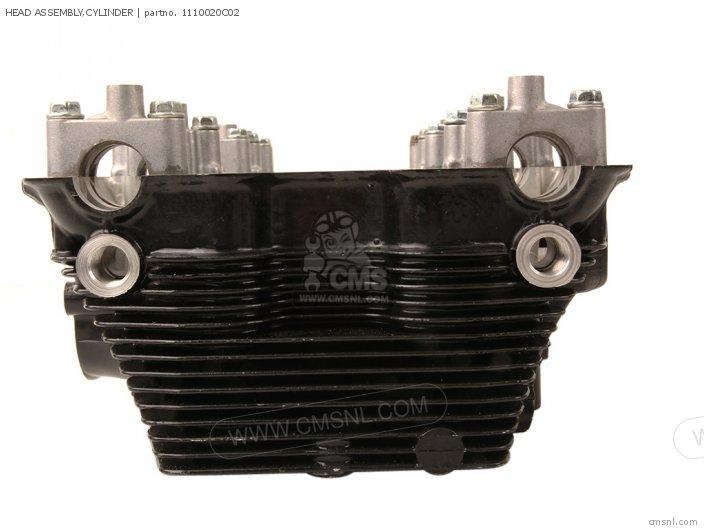 GSX750F 1995 S E02 E04 E18 E22 E24 E25 E34 E37 HEAD ASSEMBLY CYLINDER