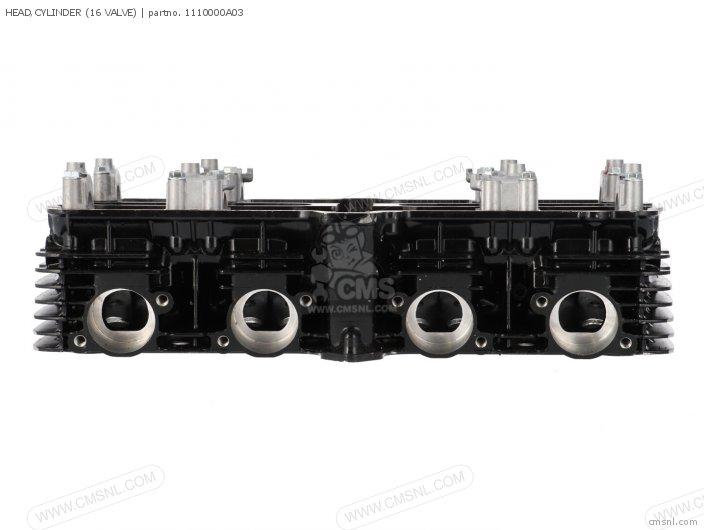 GSX1150EF 1986 G E06 HEAD CYLINDER 16 VALVE