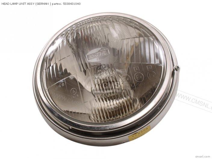 (5338430340) HEAD LAMP UNIT ASSY (GERMAN