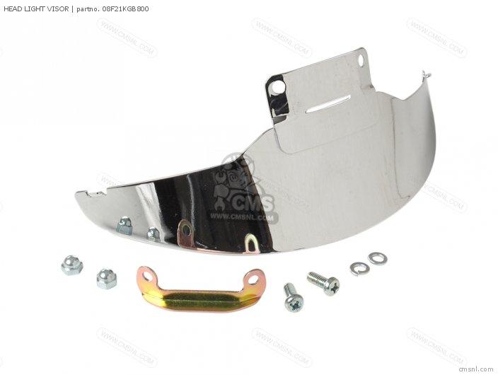 Honda HEAD LIGHT VISOR 08F21KGB800